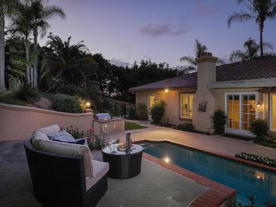Rancho Santa Fe Rental For Rent: 18150 Via Ascenso