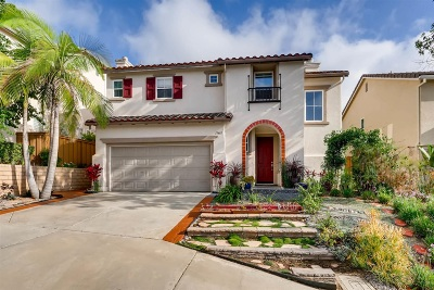 San Diego Single Family Home For Sale: 11461 Vista Ridge