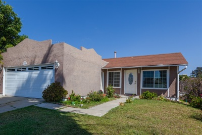 San Diego Single Family Home For Sale: Treewood St
