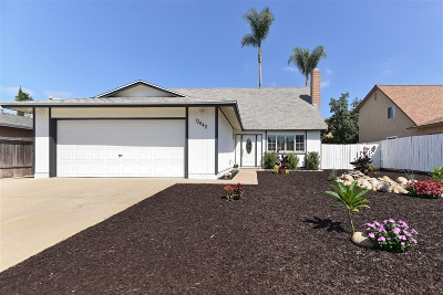 Poway Single Family Home For Sale: 13442 Ketron Avenue