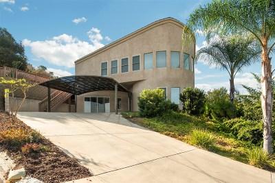 Escondido Single Family Home For Sale: 2865 Bernardo Ave