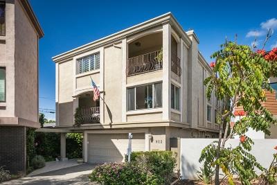 Coronado Townhouse For Sale: 922 Olive