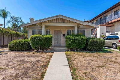 North Park Single Family Home For Sale: 3544 32nd Street