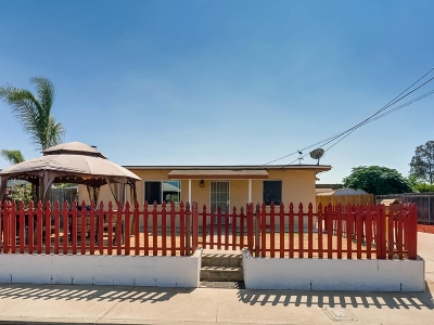 San Diego00 (65)unit #/Space # CA Single Family Home For Sale: $479,000