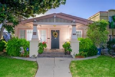 North Park, North Park - Morley Field, North Park Bordering South Park, North Park, Kenningston, North Park/City Heights, Northpark Multi Family 2-4 For Sale: 4170 Oregon Street