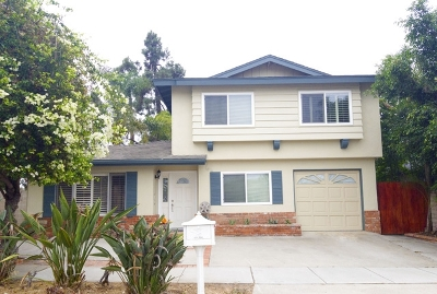 Oceanside Single Family Home For Sale: 1215 Vista Way