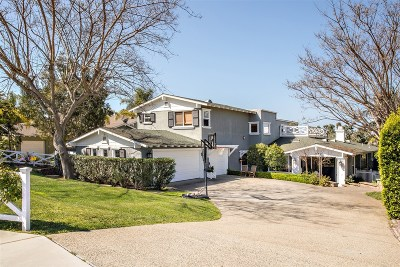Leucadia Single Family Home For Sale: 1836 Sheridan Rd
