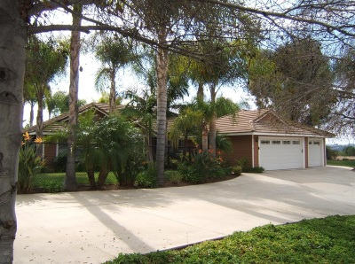 Escondido Single Family Home For Sale: 2799 Jed