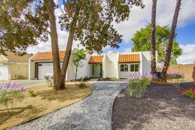Escondido Single Family Home For Sale: 1009 Harding St.