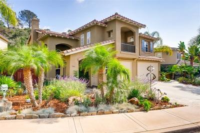Encinitas Single Family Home For Sale: 3686 Sage Canyon Dr.