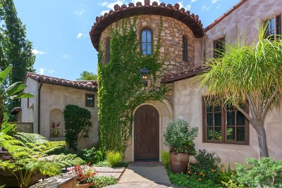 Rancho Santa Fe Single Family Home For Sale: 6937 Corte Spagna