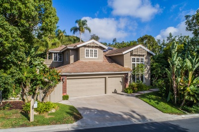 Encinitas Single Family Home For Sale: 1739 Sienna Canyon Dr