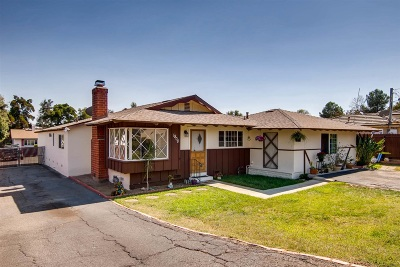 Vista Single Family Home For Sale: 1908 Yettford Rd.