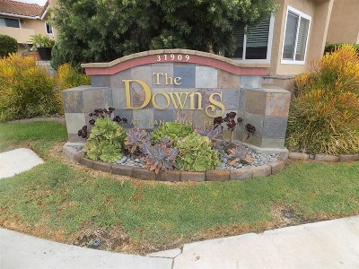 Bonsall Attached For Sale: 31909 Del Cielo Este #21