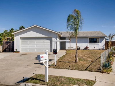 Oceanside Single Family Home For Sale: 716 Rena Dr.