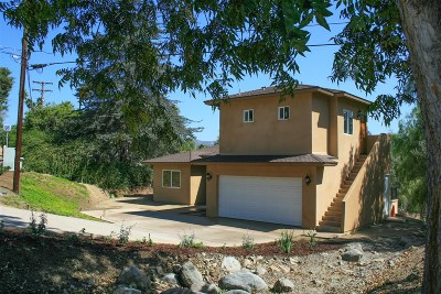Vista Single Family Home For Sale: 1418 Clarence Dr