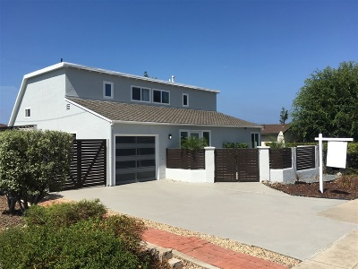 Point Loma, Point Loma Estates, Point Loma Heights, Point Loma Portal, Point Loma/Tingley Estates Single Family Home For Sale: 3503 Udall St