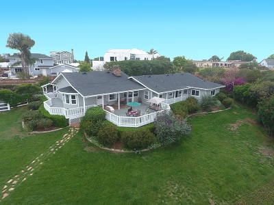 Carlsbad Single Family Home For Sale: 3840 Skyline Rd