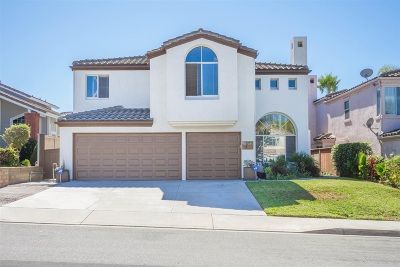 Vista Single Family Home For Sale: 1560 Pearl Heights