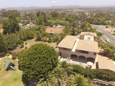 Encinitas Single Family Home For Sale: 1280 Santa Fe