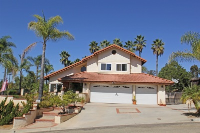Escondido Single Family Home For Sale: 2482 Live Oak Road