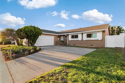 San Diego Single Family Home For Sale: 3174 Ducommun Ave