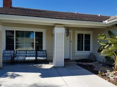 Oceanside Single Family Home For Sale: 753 Point Arguello Drive