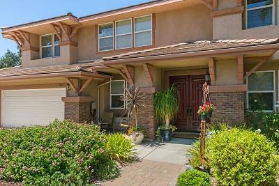 Escondido Single Family Home For Sale: 2632 Emerald Oaks Gln