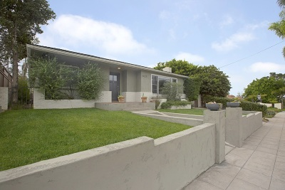 Mission Hills, Mission Hills/Hillcrest, Mission Valley Single Family Home For Sale: 1421 Torrance Street