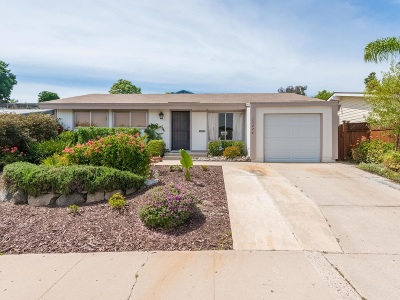 Poway Single Family Home Contingent: 13424 Silver Lake Dr