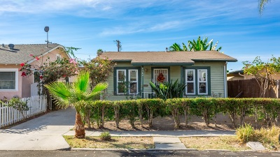 San Diego Single Family Home For Sale: 4382 Wilson Ave