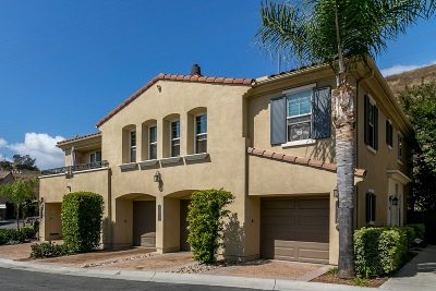 Mission Hills, Mission Hills/Hillcrest, Mission Valley Townhouse For Sale: 2714 Bellezza Dr