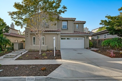 Carlsbad Single Family Home For Sale: 3439 Gentle Knoll St