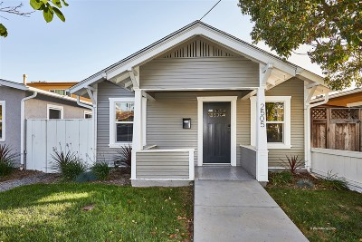 North Park, North Park - Morley Field, North Park Bordering South Park, North Park, Kenningston, North Park/City Heights, Northpark Multi Family 2-4 For Sale: 2505 Lincoln Ave.