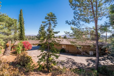 Escondido Single Family Home For Sale: 3215 Bernardo Lane