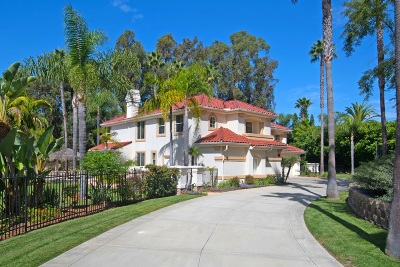 Rancho Santa Fe Single Family Home For Sale: 6746 Rancho Lakes Ct.