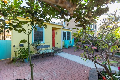San Diego Multi Family 2-4 For Sale: 817-819 San Luis Rey Pl