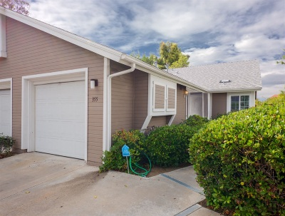 Chula Vista Townhouse For Sale