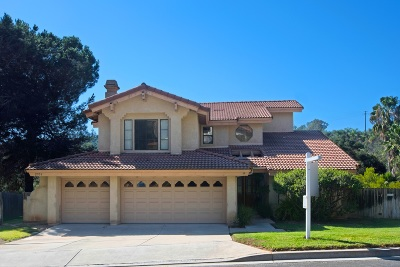 Escondido Single Family Home For Sale: 2951 La Trieste Place