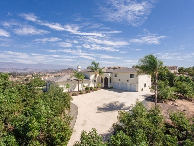 Valley Center Single Family Home For Sale: 30427 Circle R Ln