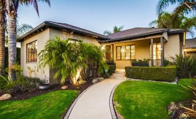 San Diego Single Family Home For Sale: 4621 Euclid Avenue