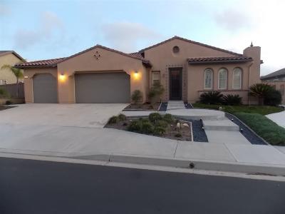 Fallbrook Single Family Home For Sale: 1741 Glenn Crawford St