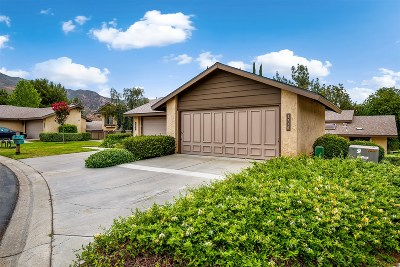 Fallbrook Attached For Sale: 1770 Pala Lake Dr