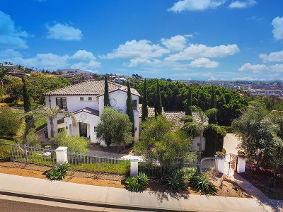 Carlsbad, Carlsabd Single Family Home For Sale: 7312 El Fuerte St
