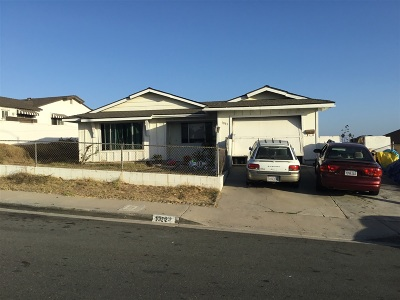 San Diego Single Family Home For Sale: 1883 Ridgewood Drive