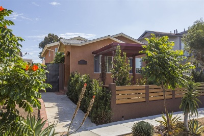 San Diego Single Family Home For Sale: 4553 35th St