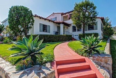 San Diego Single Family Home For Sale: 340 Rosecrans St.