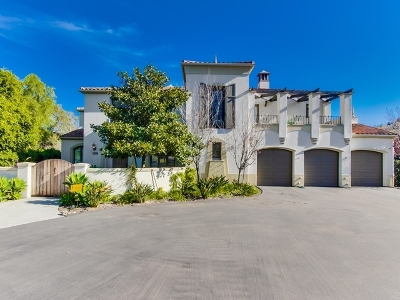 Rancho Santa Fe Single Family Home For Sale: 17979 Camino De La Mitra