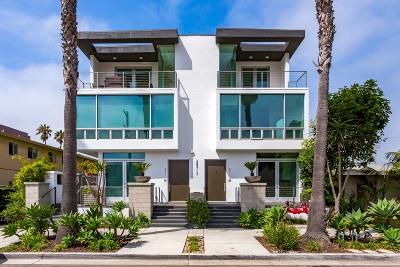 Oceanside Townhouse For Sale: 311 S Myers Street #2