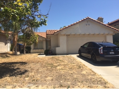 Murrieta CA Single Family Home Contingent: $319,000